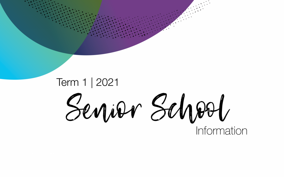 Senior School Information